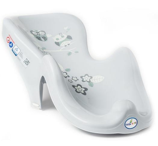 Owls Grey BATH SUPPORT SEAT BABY TODDLER KIDS NON-SLIP SAFE ANATOMIC BATH CHAIR